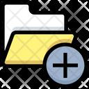 New Folder Add Folder Add Files Icon