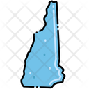 New Hampshire States Location Icon
