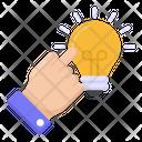 Creativity New Idea Innovation Icon