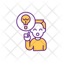 New Idea Brainstorming Icon