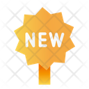 New Items Sign Tag Icon