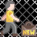 New Job Employee Worker Icon