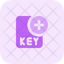 New Key File Key File Add Key File Icon