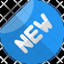 New Label New Sticker New Brand Icon