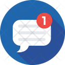 Chatting New Message Icon