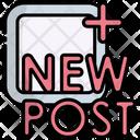 New Post Post New Icon