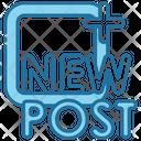 New Post Icon