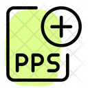 New Pps File Pps File Add Pps File Icon