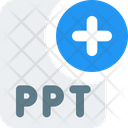 New Ppt File Add Ppt New Ppt Icon