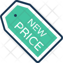 New Price tag Icon