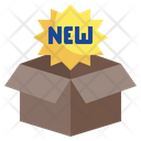 New Product New Parcel Product Icon