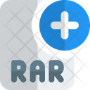 New Rar File Add Rar File Rar File Icon