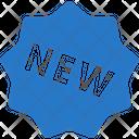 New Sticker Label Icon