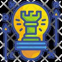 New Strategy Creative Innovation Icon