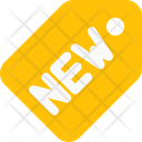 New Tag New Label New Sticker Icon