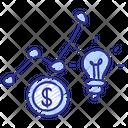 Business Growth Idea Icon