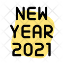 New Year Icon