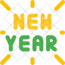 New Year Firework Icon