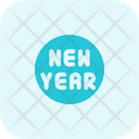 Circle New Year Icon