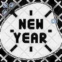 New Year Firework Icon