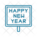New Year New Year Board Party Icon