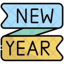 New Year Banner Happy New Year New Year Icon