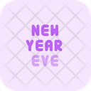 New Year Eve Icon