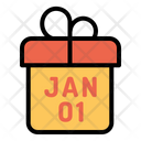 Present Party Newyear Icon