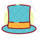 New Year Cap Party Cap New Year Hat Icon