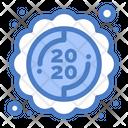 New Year Invitation Icon