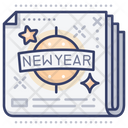 New Year News Icon