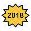New Year Poster Icon