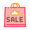 Sale Paper Bag Icon