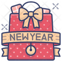 New Year Shopping Icon