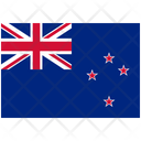 Flag Country New Zealand Icon