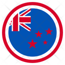 New Zealand Country National Icon