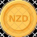 New Zealand Dollar Coin New Zealand Dollar Business Icon