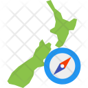 New Zealand navigation Icon