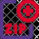 New Zip File Zip File Add Zip File Icon