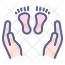 Hold Child Day Icon