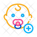 Newborn Baby Toddler Icon