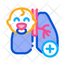 Lungs Newborn Baby Icon