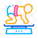 Newborn Weight Measurement Icon