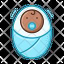 Newborn Boy Scream Icon