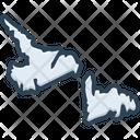 Newfoundland Area Border Icon