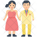 Newlywed Couple Icon