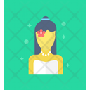 Newlyweds Bride Matrimonial Icon