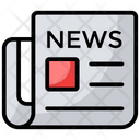 News Headlines News Paper Media Paper Icon