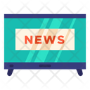 News News Channel Tv Icon
