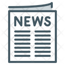 News Events Newspaper Icon